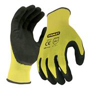 Stanley SY890L Hi-Vis Gripper Gloves - Large