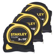 Stanley TRY3PK Tylon Tape Measure Triplepack