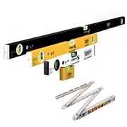 Stabila STB19310 1889 1200mm 4 Piece Level Anniversary Set