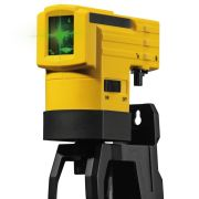 Stabila LAX50G Stabila LAX 50 Self Levelling Cross Line Laser Level - Green Beam