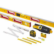 Stabila LEDPK1 Stabila 10 Piece Level Pack