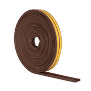 Stormguard 05SR034010MB EPDM 'P' Profile 10m - Brown