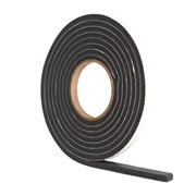 Stormguard 05SR03635MB Weatherstrip Rubber Foam 3.5m - Brown