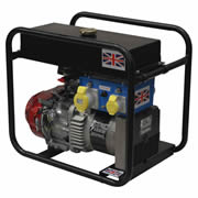 Stephill 3400HM4SLR Honda Hiremax Long Run Generator - 3.4Kva/2.7Kw
