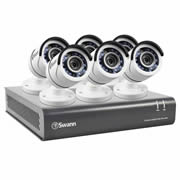 Swann SWDVK-845506-UK DVR8-4550 8 Channel 1080p HD Digital Video Recorder & 6 x PRO-T853 Cameras