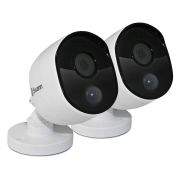 Swann SWPRO-1080MSBPK2-UK Swann Thermal Sensor Outdoor Bullet Security Cameras 1080p - Pack of 2