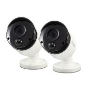 Swann SWPRO-5MPMSBPK2-UK Swann Thermal Sensing PIR Bullet Security Cameras 5MP - Pack of 2