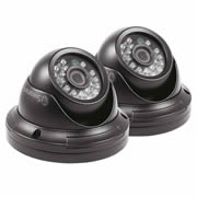 Swann SWPRO-H851PK2-UK 720p Dome Night/Day Security Cameras - Pack of 2