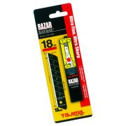 Tajima TALCB50RBC Razar Black Coated Snap Blades 18mm - Pack of 10