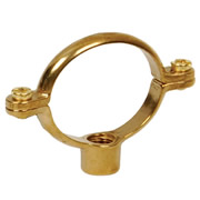 Talon MCB SRB22 Talon 22mm Single Ring and Backplate Cast Brass - Pack of 10