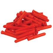 Talon P2TT Talon Red Wall Plugs - Trade pack of 1000