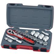 "Teng Tools T1221 1/2"" Drive Socket 21 Piece Set"