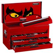 Teng Tools TC8140NF Six Drawer Top Box Complete with Tools