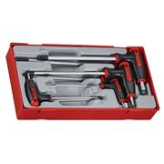Teng Tools TTHEX7 T-Handle Hex Key Set
