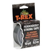 T-Rex 241330 T-Rex Tape 25mm x 9.1m Grey