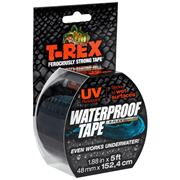 T-Rex 285988 T-Rex R Flex Waterproof Tape Black 48mm x 15.24m