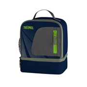 Thermos  Thermos Radiance Dual Compartment Lunch Kit Navy
