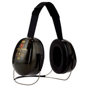 3M H520B-408-GQ Peltor Optime II Neckband Ear Defenders SNR 31dB