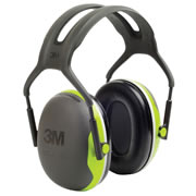 3M X4A 3M Peltor X4A Ear Defenders Black/Green 33Db SNR