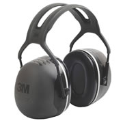 3M X4A 3M Peltor X5A Ear Defenders Black 37Db SNR