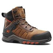 Timberland Pro A1Y9U214 Hypercharge Leather Boot - Brown/Orange
