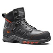 Timberland Pro A1YA6001 Hypercharge Leather Boot - Black/Orange
