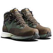 Timberland  Euro Hiker Safety Boot - Brown/Green