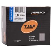 Tjep SB1663 Tjep 63mm TF-16 Straight Galv Brads - Box of 2500