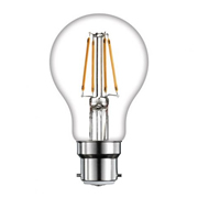 TimeLED 750377 LED GLS Filament 4W Non-Dimmable Bulb B22 WW