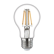 TimeLED 750421 LED GLS Filament 8W Dimmable Bulb E27 WW