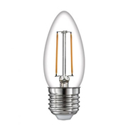 TimeLED 750445 LED Candle Filament 2W Non-Dimmable Bulb E27 WW