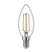 TimeLED 750452 LED Candle Filament 2W Non-Dimmable E14 WW