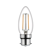 TimeLED 750469 LED Candle Filament 4W Dimmable Bulb B22 WW