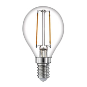 TimeLED 750513 LED Golf Ball Filament 2W Non-Dimmable Bulb E14 WW