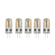 TimeLED 750568PK5 LED G4 1.5W Non-Dimmable Bulb WW - Pack of 5