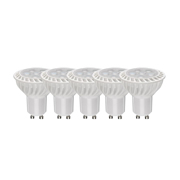 TimeLED 757819PK5 LED GU10 6W Dimmable CW - Pack of 5