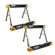 ToughBuilt C550PK2 ToughBuilt Saw Horse/Jobsite Table Twin Pack