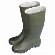Town & Country TFW Full Length Wellington Boots - Green