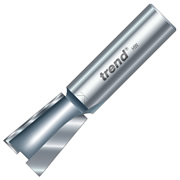 "Trend 32/12X1/2TC Stair Trenching Cutter 95°, 25.5mm Cut - 1/2"" Shank, 19mm Dia"