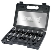 Trend SET/SS9X1/2TC 15 Piece TCT Router Cutter Set (1/2'')