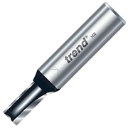 "Trend TR14X1/2TC Two Flute Cutter 25mm Cut - 1/2"" Shank, 12.7mm Dia"