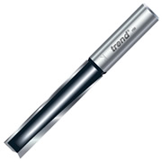 "Trend TR18DX1/2TC Two Flute Cutter 63mm Cut - 1/2"" Shank, 12.7mm Dia - Suited for Drilling"