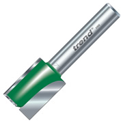 Trend 1/4C025A 16mm Trend Straight Cutter (1/4'' Shank) 19mm Flute