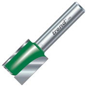 "Trend 1/4C030A 20mm Trend Straight Cutter (1/4"" Shank) 25mm Flute"