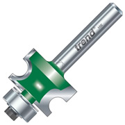 "Trend C130X1/4TC Corner Bead Cutter 16mm Cut - 1/4"" Shank, 26mm Dia, 4.8mm Radius"