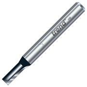 "Trend TR03X1/4TC Two Flute Cutter 16mm Cut - 1/4"" Shank, 5mm Dia"