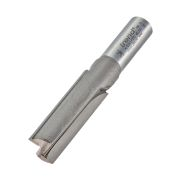 "Trend 4/22X1/2TC Two Flute Cutter 50mm Cut - 1/2"" Shank, 15.9mm Dia"