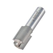 "Trend 4/5X1/2TC Two Flute Cutter 25mm Cut - 1/2"" Shank, 19.1mm Dia"