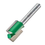 "Trend C025X1/4TC Two Flute Cutter 19.1mm Cut - 1/4"" Shank, 15.9mm Dia"