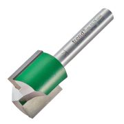 "Trend C029X1/4TC Two Flute Cutter 19.1mm Cut - 1/4"" Shank, 19.1mm Dia"